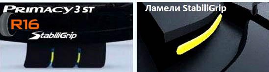 Primacy 3 ST: ламели StabiliGrip