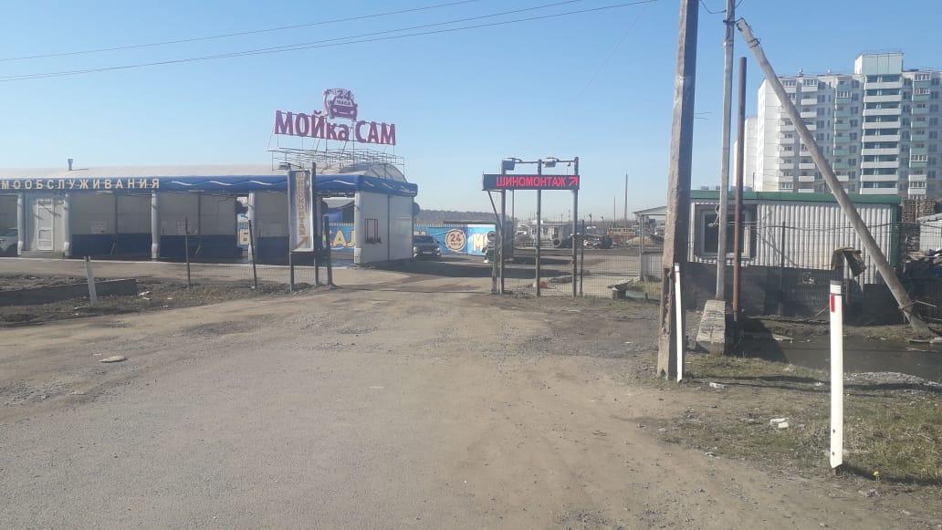 Грузовой шиномонтаж Московское шоссе д. 296 +10 метров