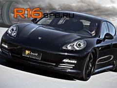Для заводской комплектации Porsche Panamera выбрали шины Yokohama