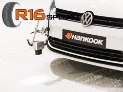 Готовь сани летом: презентация новых зимних шин от Hankook