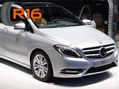 Mercedes-Benz B-Class укомплектуют шинами Kumho