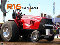 Mitas разработала покрышки специально для трактор-пуллинга