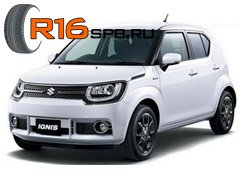 На компакт-кроссовер Suzuki Ignis установят шины Bridgestone