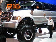 На крупноразмерные пикапы Ford установят шины Hankook