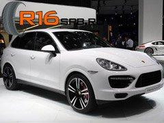 На Porsche Cayenne установят корейские шины Nexen