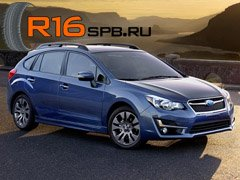 На Subaru Impreza установят покрышки Firestone FT140 от Bridgestone