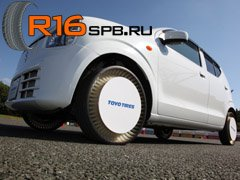 Новое поколение безвоздушных шин от компании Toyo