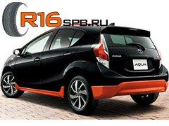 Новую версию гибрида Toyota Aqua «обуют» в шины Dunlop SP Sport 2030