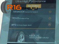 Новые летние UHP-шины от Aeolus были презентованы на SEMA-2014