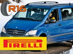 Новые зимние шины Pirelli для микроавтобусов и автофургонов