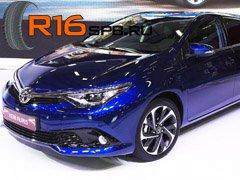 Новый гибридный Toyota Auris оснастят шинами Goodyear