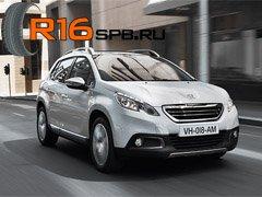 Новый кроссовер Peugeot 2008 «обуют» в шины компании Goodyear