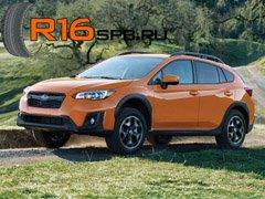 Новый Subaru Crosstrek поставляется с шинами Falken
