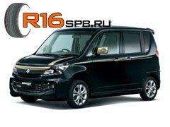 Шины Bridgestone выбраны для комплектации микровэна Suzuki Solio