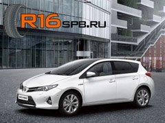 Три модели шин Yokohama были одобрены для обновленный Toyota Auris