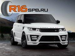 Внедорожник Range Rover Sport укомплектуют шинами Goodyear