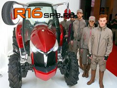 Японские тракторы Yanmar будут комплектоваться шинами Michelin