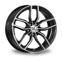 1000 Miglia MM039 8x18 5*112 ET 39 dia 66.5 Anthracite Polished