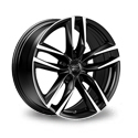1000 Miglia MM1011 7.5x17 5*112 ET 45 dia 66.6 Black Polished