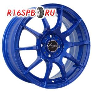 Литой диск 4Go 5007 7x16 4*100 ET 40 Blue
