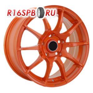 Литой диск 4Go 5007 7x16 4*100 ET 40 Orange