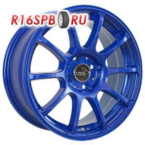 Литой диск 4Go 9039 6.5x15 4*98 ET 35 Blue