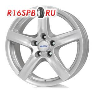 Литой диск Alutec Grip 6x15 4*100 ET 38 Polar Silver