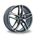 Alutec Ikenu 7.5x17 5*108 ET 45 dia 70.1 Graphite Front Polished