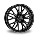 ATS Perfektion 8x17 5*108 ET 45 dia 70.1 Black Polished