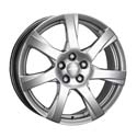 ATS Twister 6.5x16 5*105 ET 38 dia 56.6 Sterling Silver