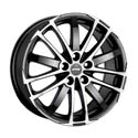 ATS X-Treme 8x18 5*120 ET 35 dia 72.6 Racing Black Front Polished
