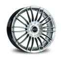 Borbet CW3 8.5x19 5*130 ET 53 dia 71.6 Sterling Silver