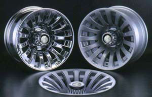 Литой диск BSA 286 8.5x15 5*114.3 ET -30