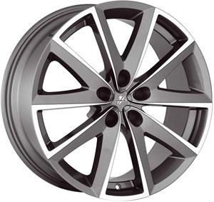 Литой диск Fondmetal 7600 Titanium Polished 7x16 5*110 ET 35