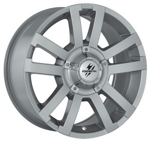 Литой диск Fondmetal 7700 Silver 8x17 6*114.3 ET 30