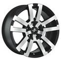 Fondmetal 7700-1 Black Polished 8x17 5*115 ET 38 dia 70.1