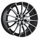 Fondmetal 7800 Black Polished 8x18 5*120 ET 38 dia 74.1