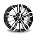 Fondmetal TPG1 7x16 5*114.3 ET 40 dia 75 Black Polished