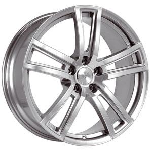 Литой диск Fondmetal Tech 6 Shiny Silver Naked