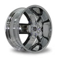 Harp Y-18 9.5x22 6*139.7 ET 30 dia 78.1 Black Chrome