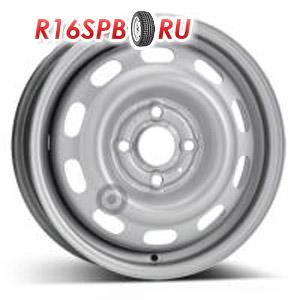 Штампованный диск KFZ 4925 4.5x14 4*100 ET 43.5