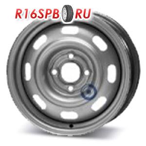 Штампованный диск KFZ 6950 6x14 4*100 ET 40