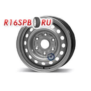 Штампованный диск KFZ 8370 5.5x15 6*139.7 ET 29