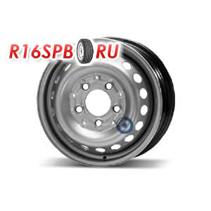 Штампованный диск KFZ 8445 6x15 5*130 ET 83