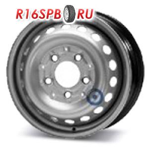 Штампованный диск KFZ 8555 6x15 5*130 ET 75
