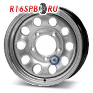 Штампованный диск KFZ 8665 5.5x15 5*139.7 ET 5