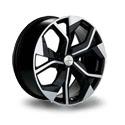 Khomen Wheels Turbine Styling 2006 8.5x20 5*112 ET 40 dia 66.6 Black