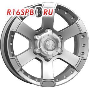 Литой диск КиК M56 7x16 6*139.7 ET 20 блэк платинум