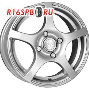 Литой диск КиК Салют-Нова 5.5x14 4*100 ET 46 блэк платинум