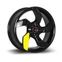 LegeArtis Concept OPL534 8.5x19 5*115 ET 45 dia 70.3 BK+plastic
